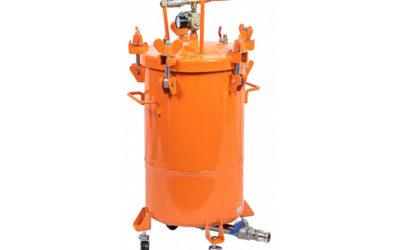Красконагнетательный бак Aspro-30 для текстурных составов и шпатлевок